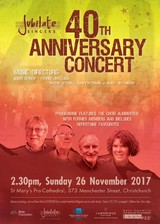 Jubilate Singers' 40th Aniversary Concert